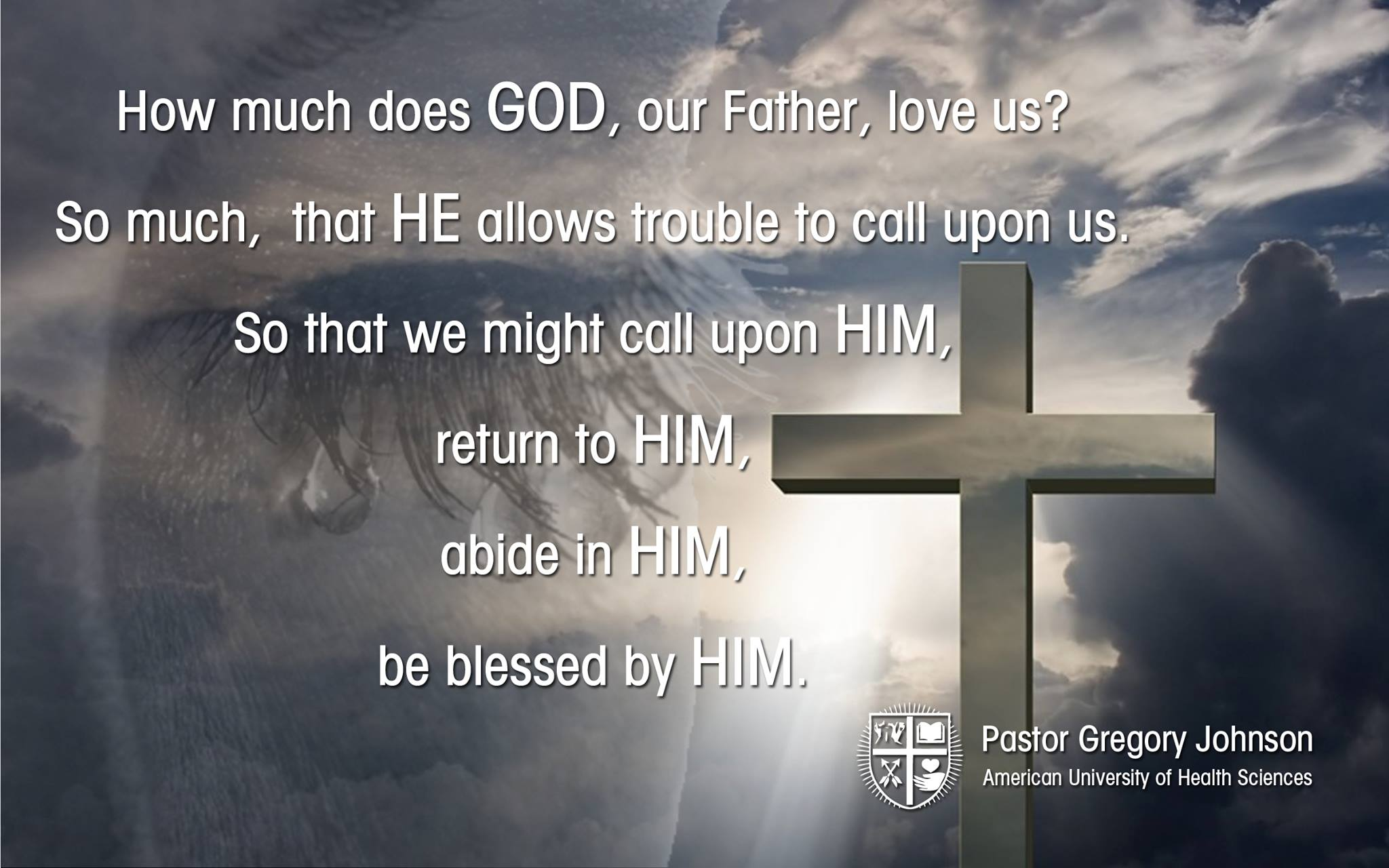How much does God our father…