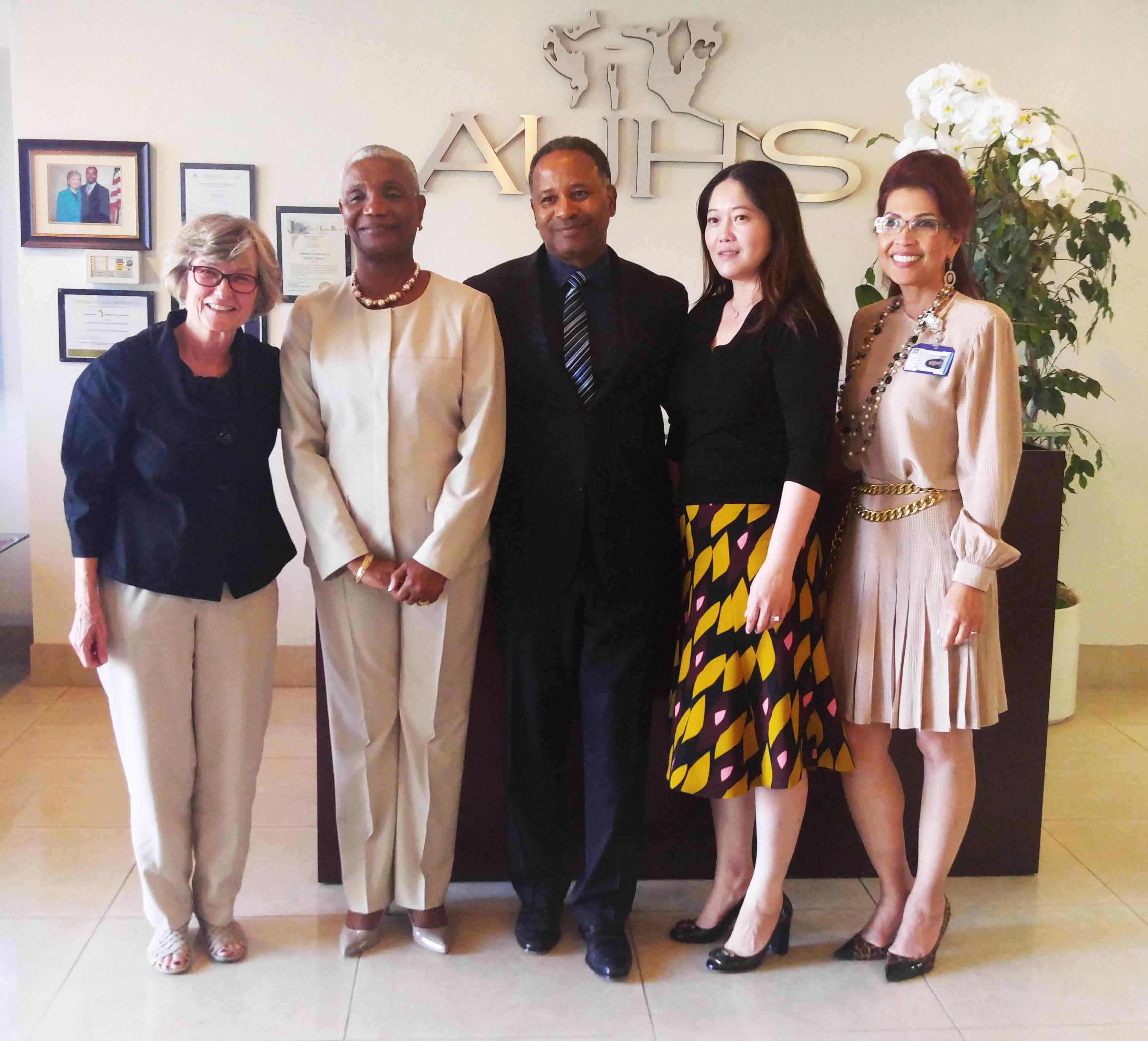 """Haiti Nursing Foundation and FSIL comes to AUHS"