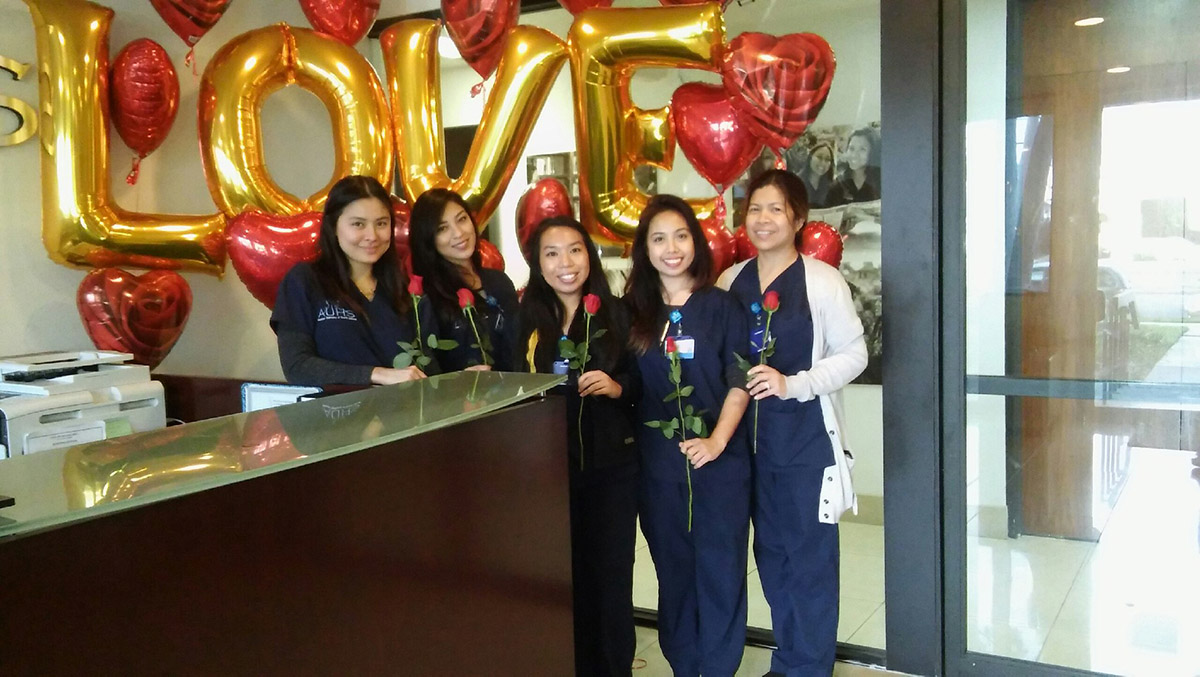 Love is in the Air- AUHS Wishes their Students a Happy Valentine's Day