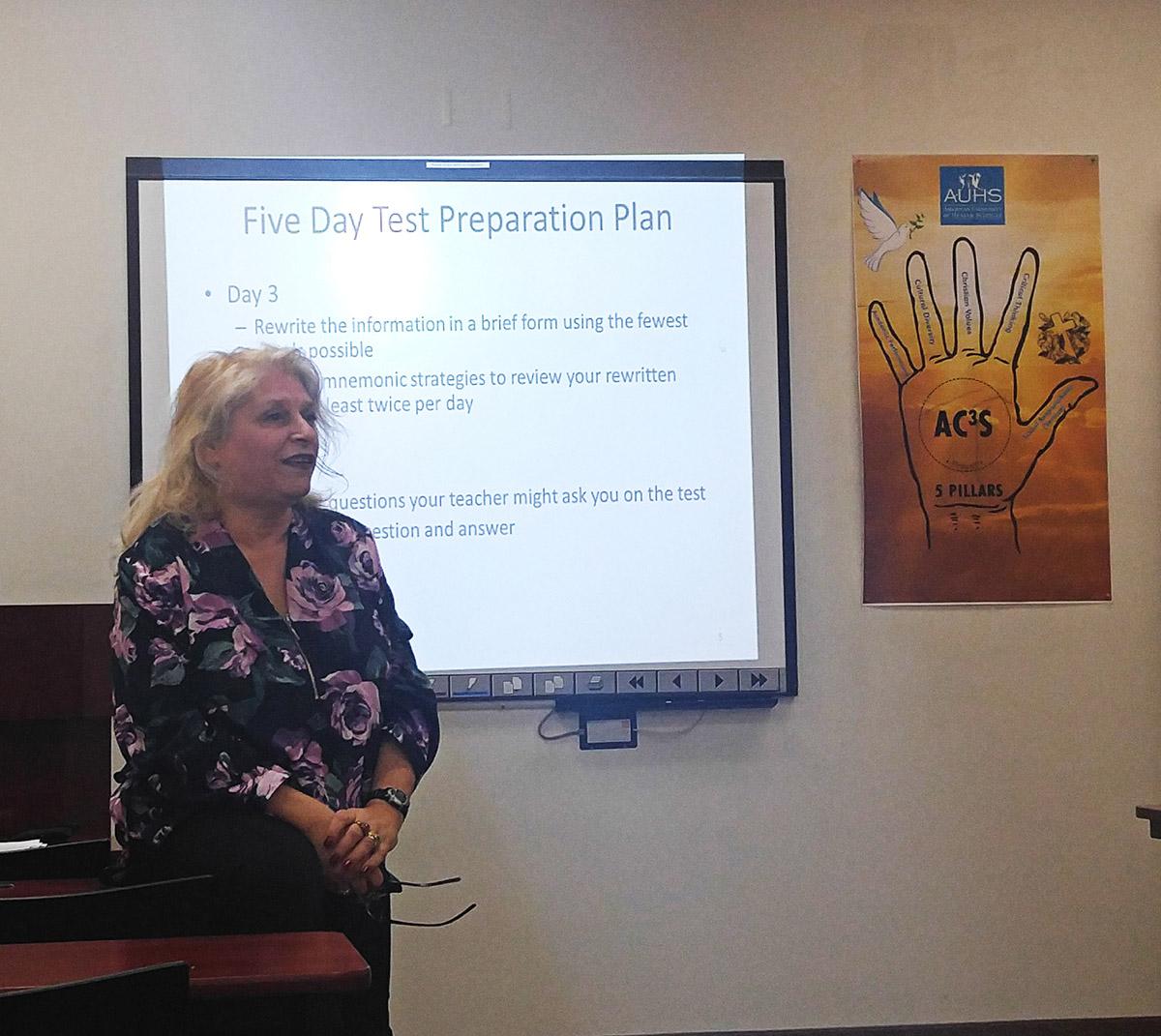 Test-Taking Strategies Workshop