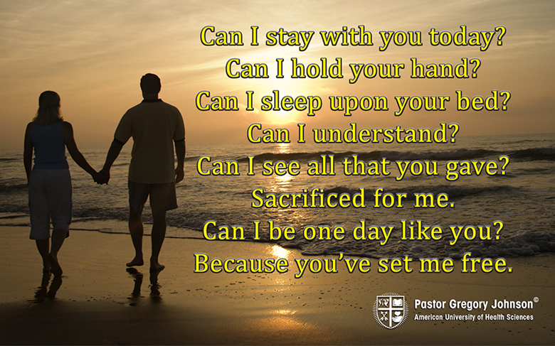 Can I stay with you today…